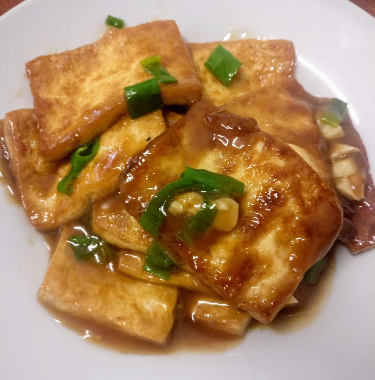 懒人料理之烧豆腐