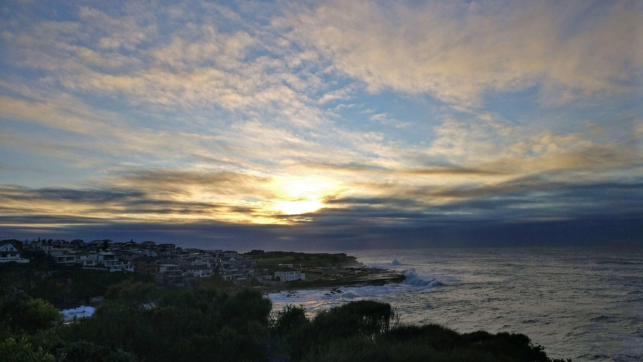 悉尼周边游之Coogee看日出
